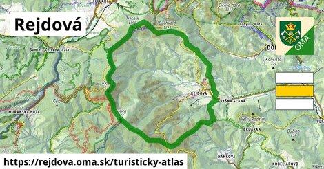 ikona Turistická mapa turisticky-atlas  rejdova