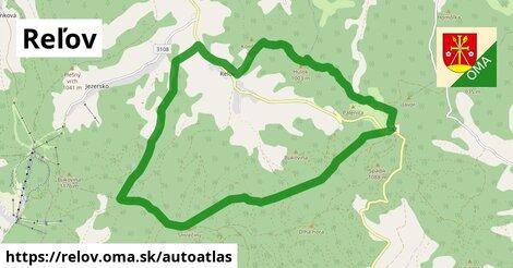ikona Mapa autoatlas  relov
