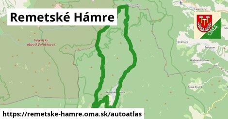 ikona Mapa autoatlas  remetske-hamre
