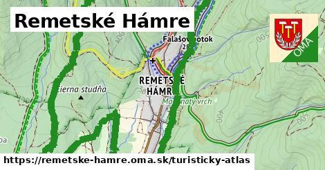 ikona Remetské Hámre: 28km trás turisticky-atlas  remetske-hamre