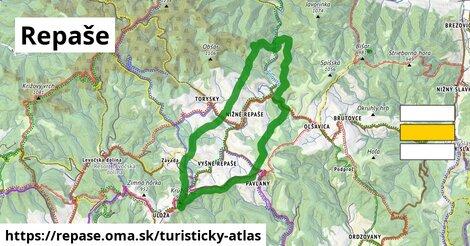 ikona Turistická mapa turisticky-atlas  repase