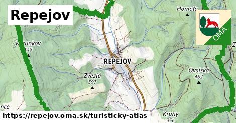 ikona Turistická mapa turisticky-atlas  repejov