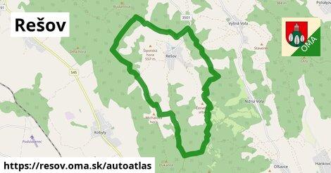 ikona Mapa autoatlas  resov