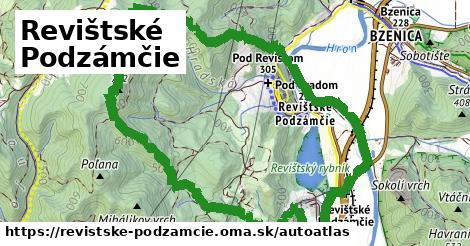 ikona Mapa autoatlas  revistske-podzamcie