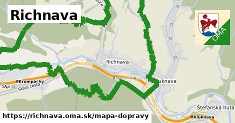 ikona Mapa dopravy mapa-dopravy  richnava