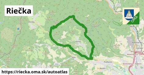 ikona Mapa autoatlas  riecka