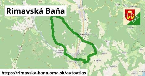 ikona Mapa autoatlas  rimavska-bana