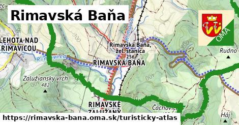 ikona Turistická mapa turisticky-atlas  rimavska-bana