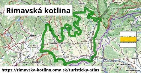 ikona Turistická mapa turisticky-atlas  rimavska-kotlina