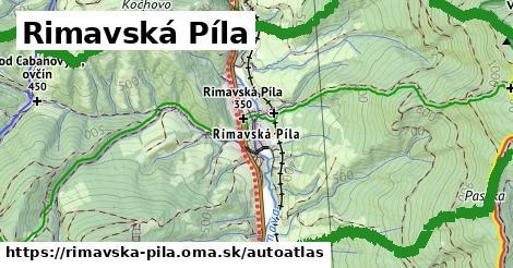 ikona Mapa autoatlas  rimavska-pila