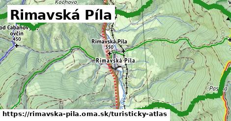 ikona Rimavská Píla: 16km trás turisticky-atlas  rimavska-pila