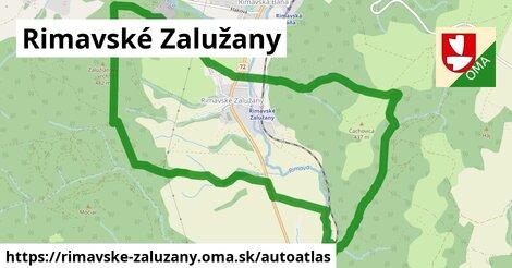 ikona Mapa autoatlas  rimavske-zaluzany