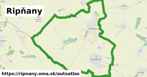 ikona Mapa autoatlas  ripnany