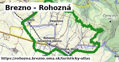 ikona Brezno - Rohozná: 0m trás turisticky-atlas v rohozna.brezno