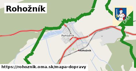 ikona Mapa dopravy mapa-dopravy  rohoznik