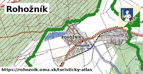ikona Turistická mapa turisticky-atlas  rohoznik