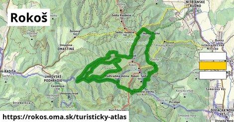 ikona Turistická mapa turisticky-atlas  rokos