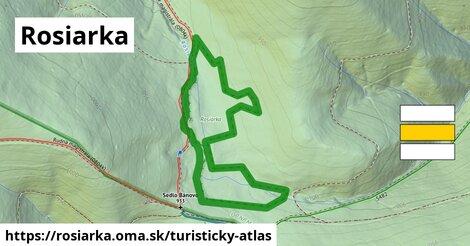 ikona Turistická mapa turisticky-atlas  rosiarka