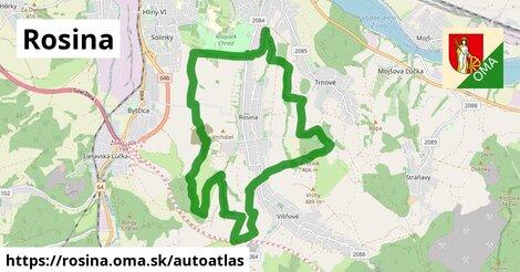 ikona Mapa autoatlas  rosina