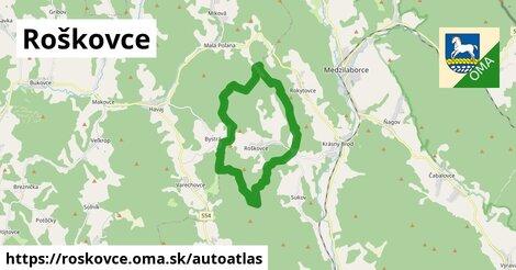 ikona Mapa autoatlas  roskovce