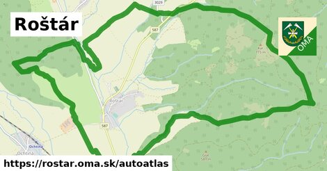 ikona Mapa autoatlas  rostar
