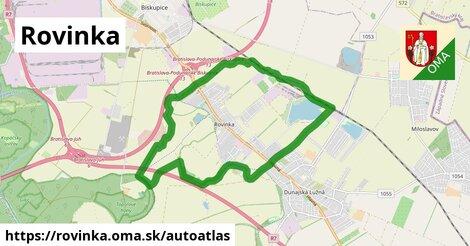 ikona Mapa autoatlas  rovinka