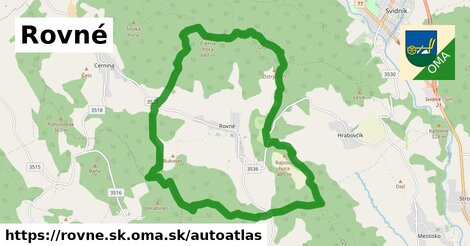ikona Mapa autoatlas  rovne.sk