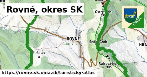 ikona Turistická mapa turisticky-atlas  rovne.sk