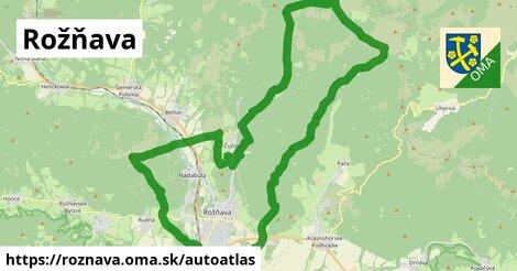 ikona Mapa autoatlas  roznava