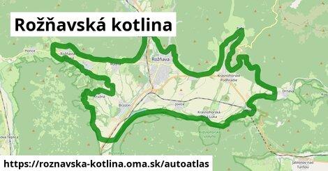 ikona Mapa autoatlas  roznavska-kotlina