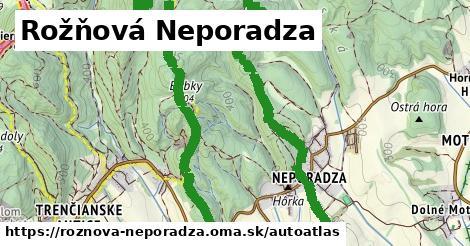 ikona Mapa autoatlas  roznova-neporadza