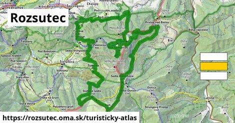ikona Rozsutec: 29km trás turisticky-atlas  rozsutec