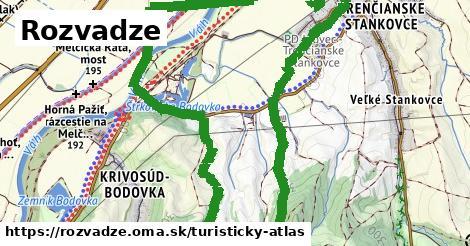 ikona Rozvadze: 1,54km trás turisticky-atlas  rozvadze