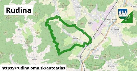 ikona Mapa autoatlas  rudina