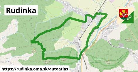 ikona Mapa autoatlas  rudinka