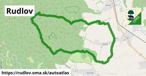 ikona Mapa autoatlas  rudlov