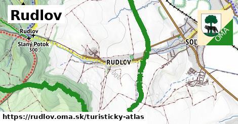 ikona Turistická mapa turisticky-atlas  rudlov