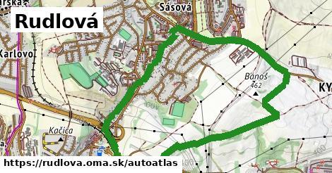 ikona Mapa autoatlas  rudlova