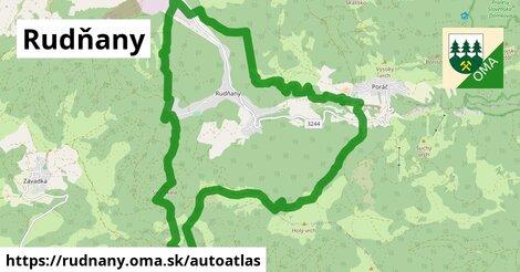 ikona Mapa autoatlas  rudnany