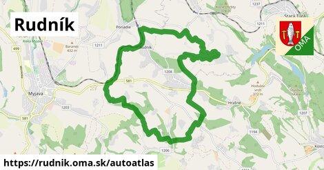 ikona Mapa autoatlas  rudnik