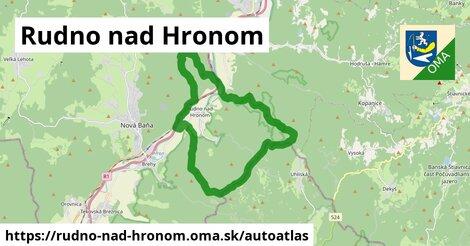 ikona Mapa autoatlas  rudno-nad-hronom