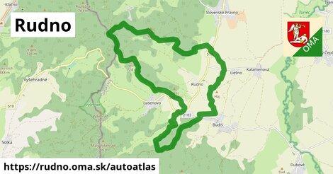 ikona Mapa autoatlas  rudno