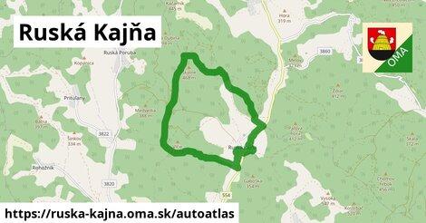 ikona Mapa autoatlas  ruska-kajna