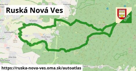 ikona Mapa autoatlas  ruska-nova-ves