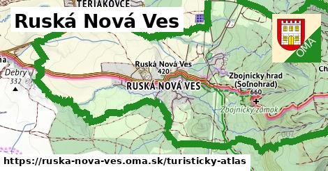 ikona Turistická mapa turisticky-atlas v ruska-nova-ves