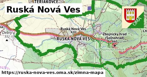 ikona Zimná mapa zimna-mapa v ruska-nova-ves