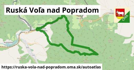ikona Mapa autoatlas  ruska-vola-nad-popradom