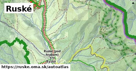 ikona Mapa autoatlas  ruske