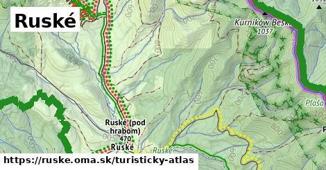 ikona Turistická mapa turisticky-atlas  ruske