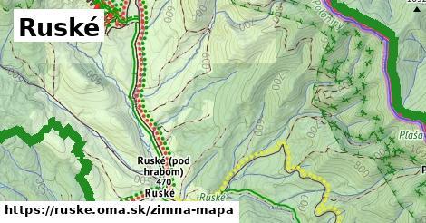 ikona Zimná mapa zimna-mapa  ruske